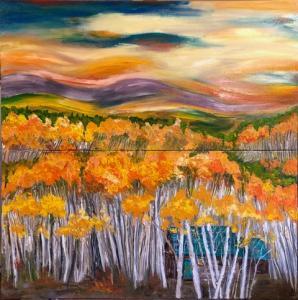 Painting Aspen Grove_4077