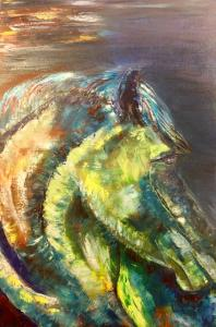 Painting Horse head_6054